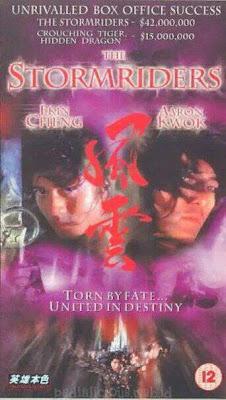 Sinopsis film Storm Riders (1998)