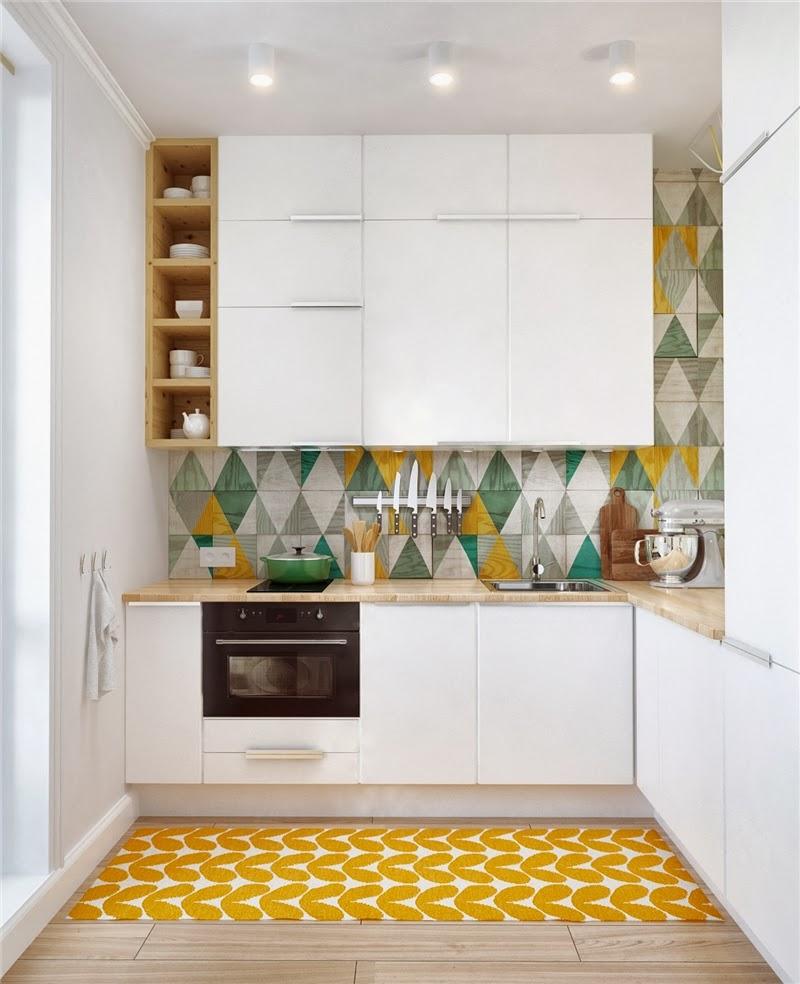 Mieszkanie w skandynawskim stylu z pastelowymi dodatkami, wystrój wnętrz, wnętrza, urządzanie domu, dekoracje wnętrz, aranżacja wnętrz, inspiracje wnętrz,interior design , dom i wnętrze, aranżacja mieszkania, modne wnętrza, styl skandynawski, scandinavian style, pastelowe kolory, małe wnętrza, kawalerka, kuchnia, nowoczesna kuchnia