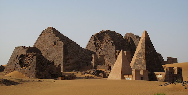 Archaeologists open burial chambers in Sudanese pyramid
