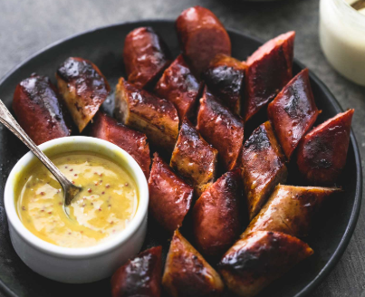 3 Easy Grilled Sausage Dipping Sauces