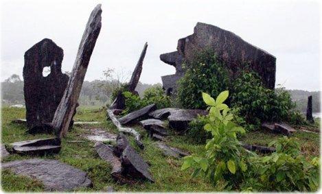Rego Grande: Stonehenge,d'Amazonie