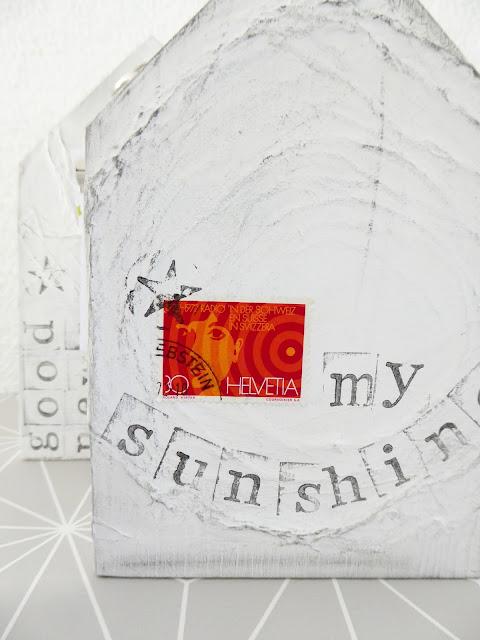 mit Strich und Faden: Holzhaus My Sunshine