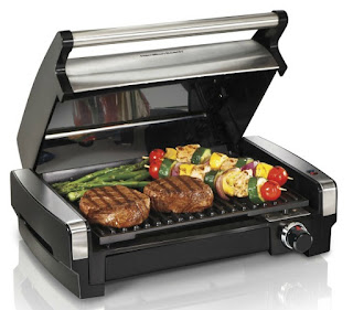 Hamilton Beach Indoor Searing Grill featured on Walking on Sunshine