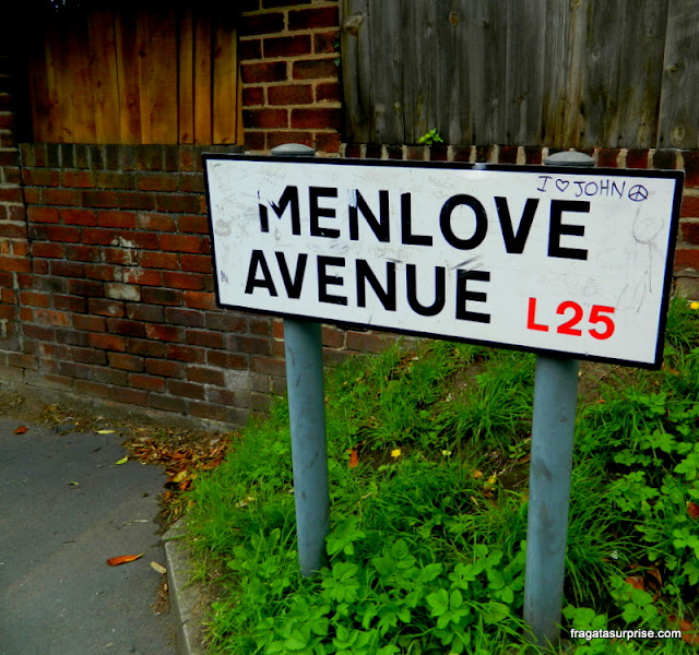 Casa de John Lennon em Liverpool, Menlove Avenue