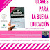 💬 Conferencia 'Claves para la buena educación' | 28sep
