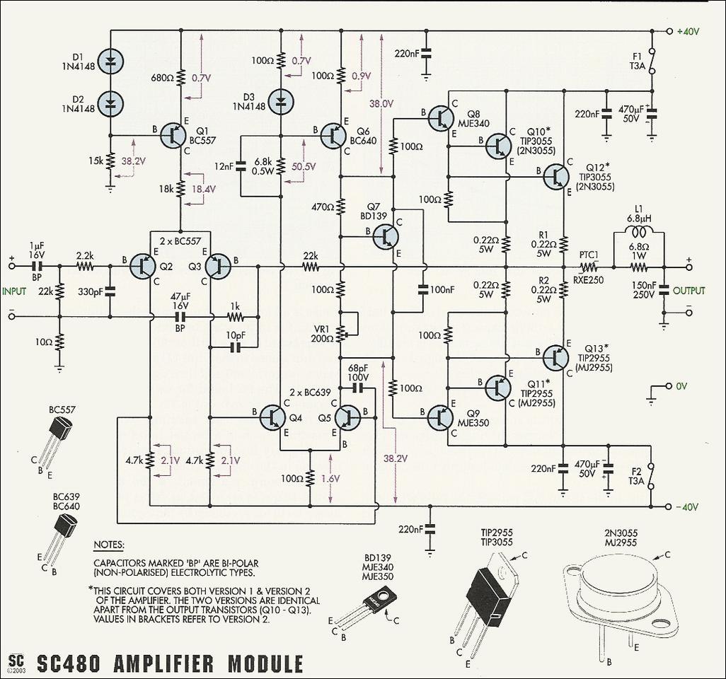 Eletrônica Campo Elétrico*: Super Amplificador Potente.