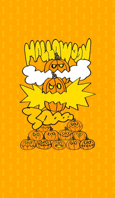 Halloween pumpkin orange C