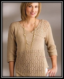 puloverspicami jenskii pulover vyazaniespicami vyazaniedlyajenschin shemauzora opisanievyazaniya (1)