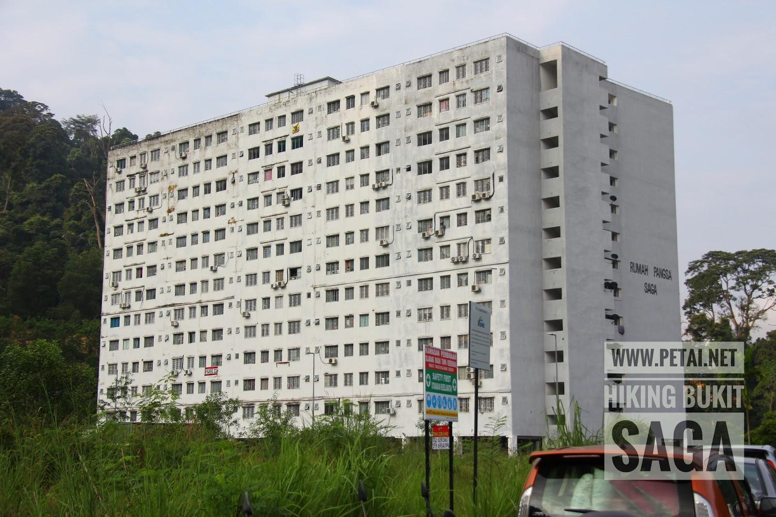 Flat Taman Saga