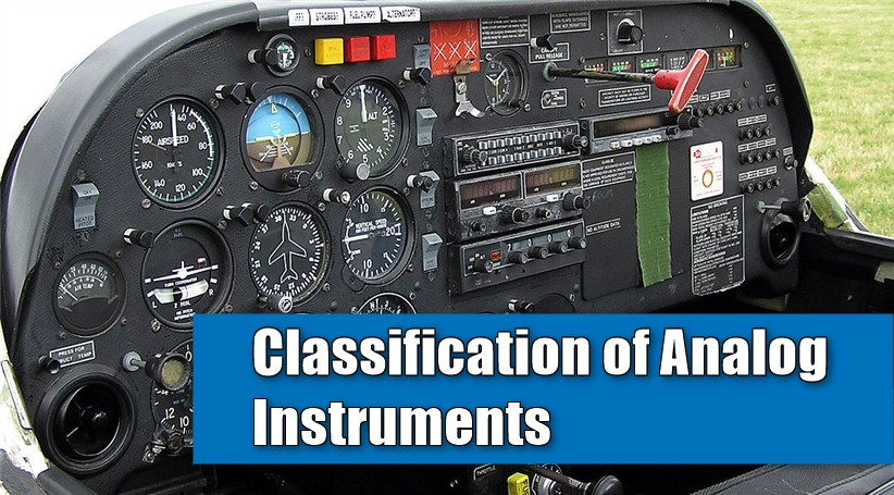 Classification of Analog Instruments