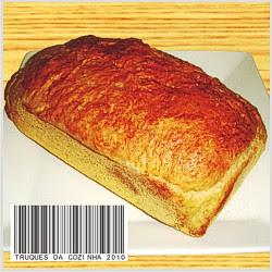 Pão de mandioca caseiro