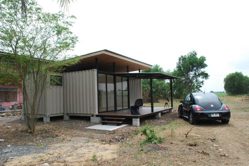 Shipping Container Homes Bluebrown Container Home Thailand