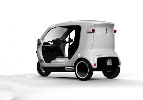 www.Tinuku.com Zbee three-wheeled electric ready production in Indonesia