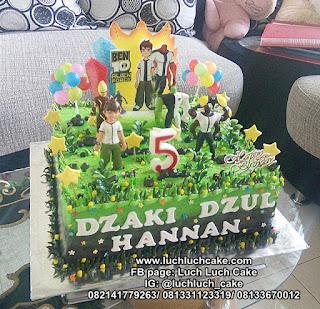 Kue Ulang Tahun Ben10