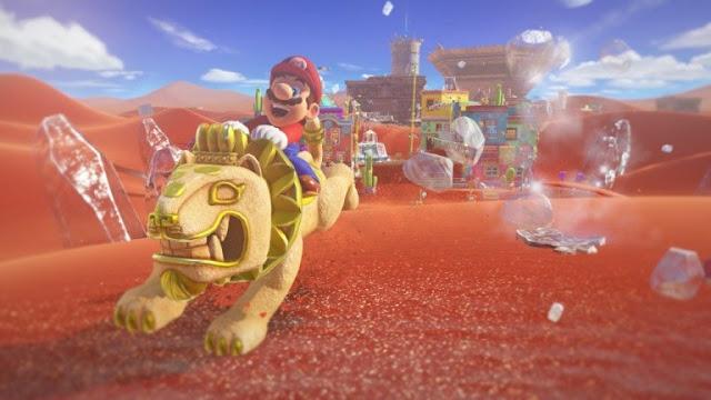 إمكانية إلتقاط مقاطع الفيديو ستتوفر كذلك للعبة Super Mario Odyssey