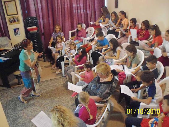 Το τμήμα της Παιδικής-Νεανικής Χορωδίας της ΤΕΛΕΣΙΛΛΑΣ άρχισε δουλειά!