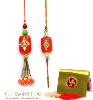 Send Online Rakhi Gifts to India from UK