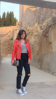 VISITA A CARTAGENA, CON UN LOOK CASUAL CHIC