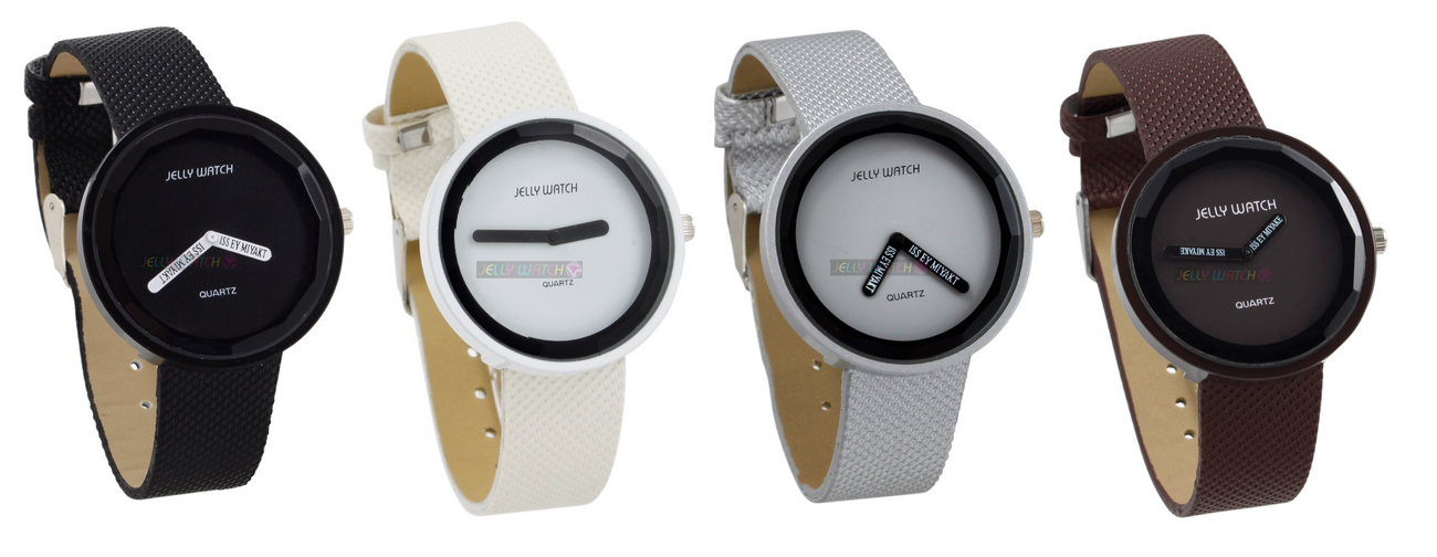 jelly watch l zegarki l minimalizm l prostota l design l czarny i biały