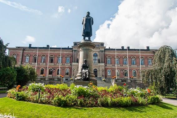 La universidad de Uppsala. Visitando Suecia: Un dia en Uppsala