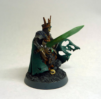 Wight King with Baleful Tomb Blade, Deathrattle, Age of Sigmar