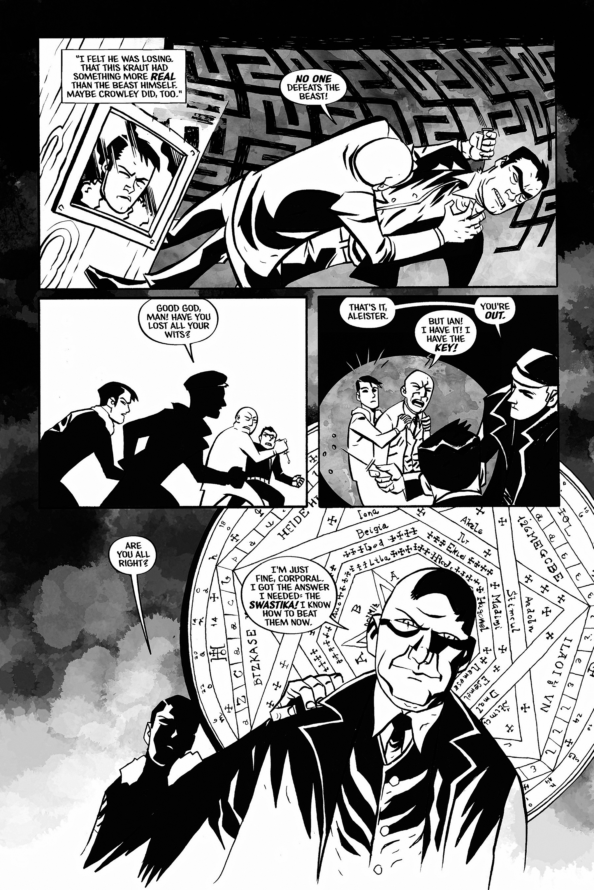 Read online Aleister & Adolf comic -  Issue # TPB - 44