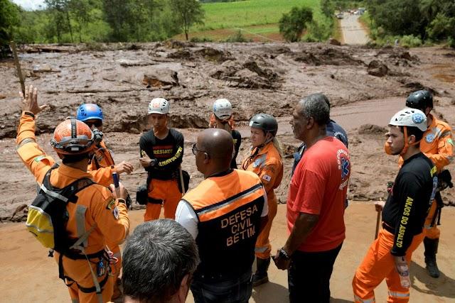 Buscas por sobreviventes seguem pelo 4º dia em Brumadinho, MG