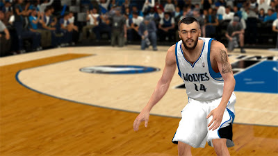 NBA 2K13 Nikola Pekovic NBA2K Face Update