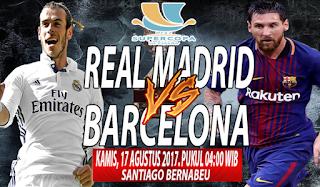 Prediksi Real Madrid vs Barcelona 17 Agustus 2017