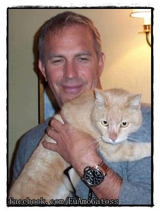 Kevin Costner love animals, dogs, cats