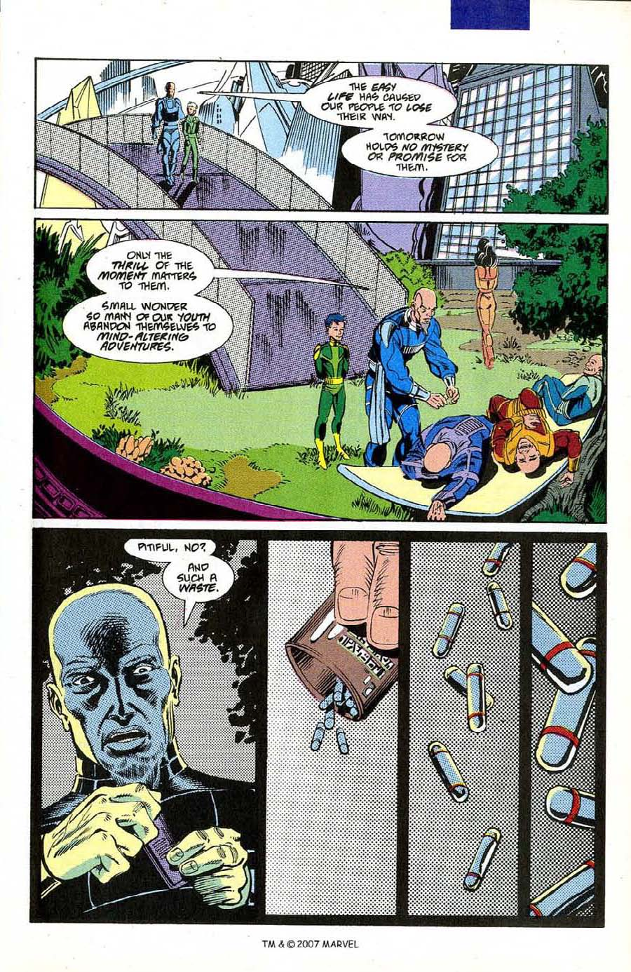 Read online Silver Surfer (1987) comic -  Issue #50 - 21
