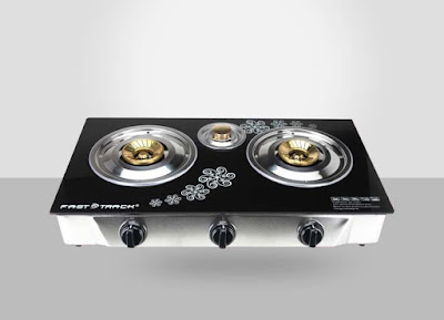 fast track gas stove