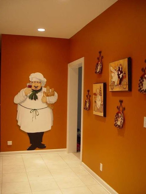 Chef Themed Kitchen Decor