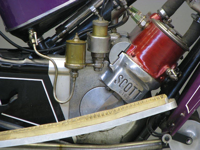 Scott Two-speed Exhaust Sound