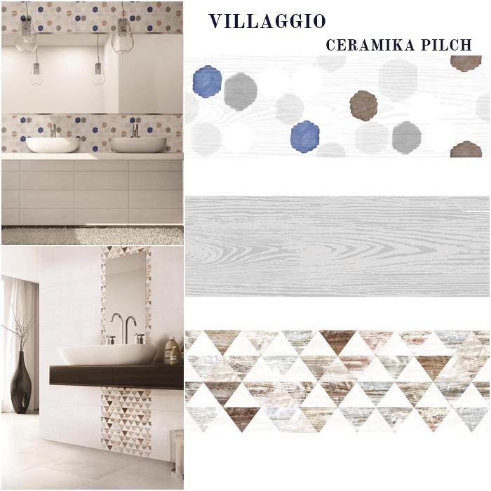 villaggio ceramika pilch | trójkąty płytki