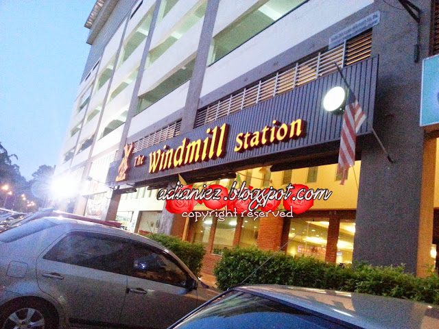 the windmill station, bukit beruang