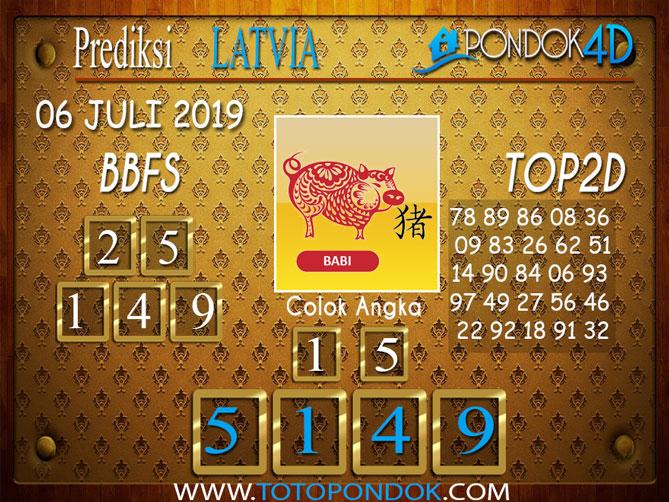 Prediksi Togel LATVIA PONDOK4D 06 JULI  2019