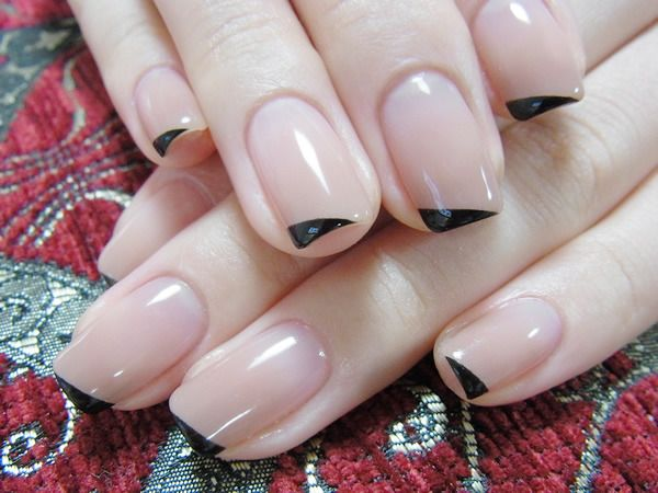 Newspaper manicure at home (newspaper print on the nails) 20