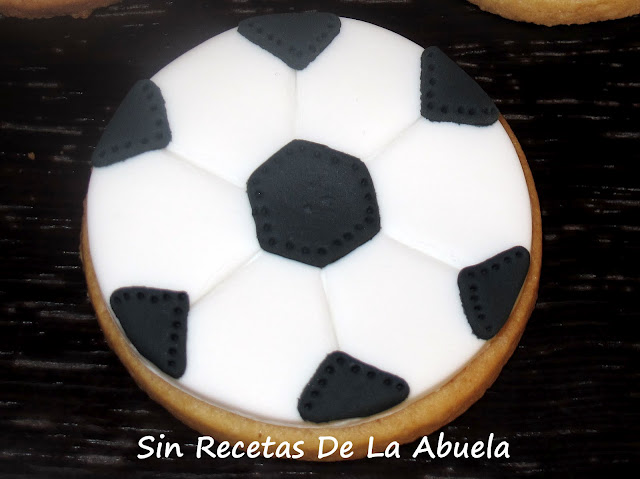 Sin Recetas De La Abuela Galletas Balones De Fútbol