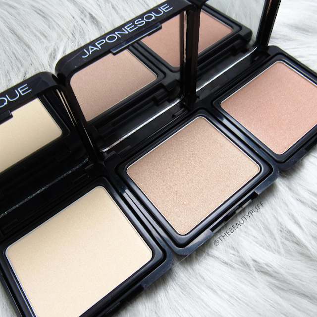 japonesque highlighter set - the beauty puff