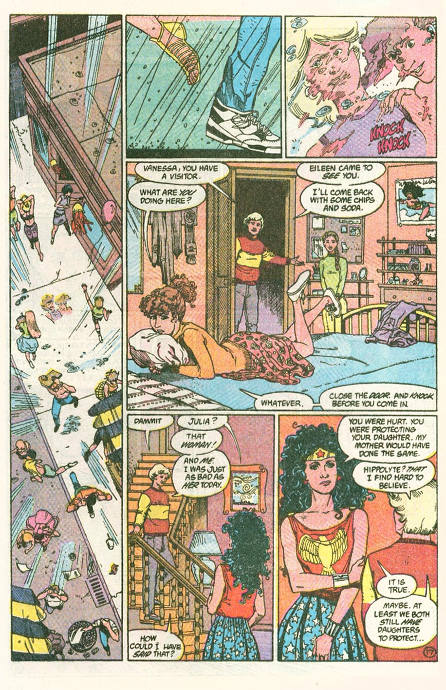 Read online Wonder Woman (1987) comic -  Issue #46 - 18