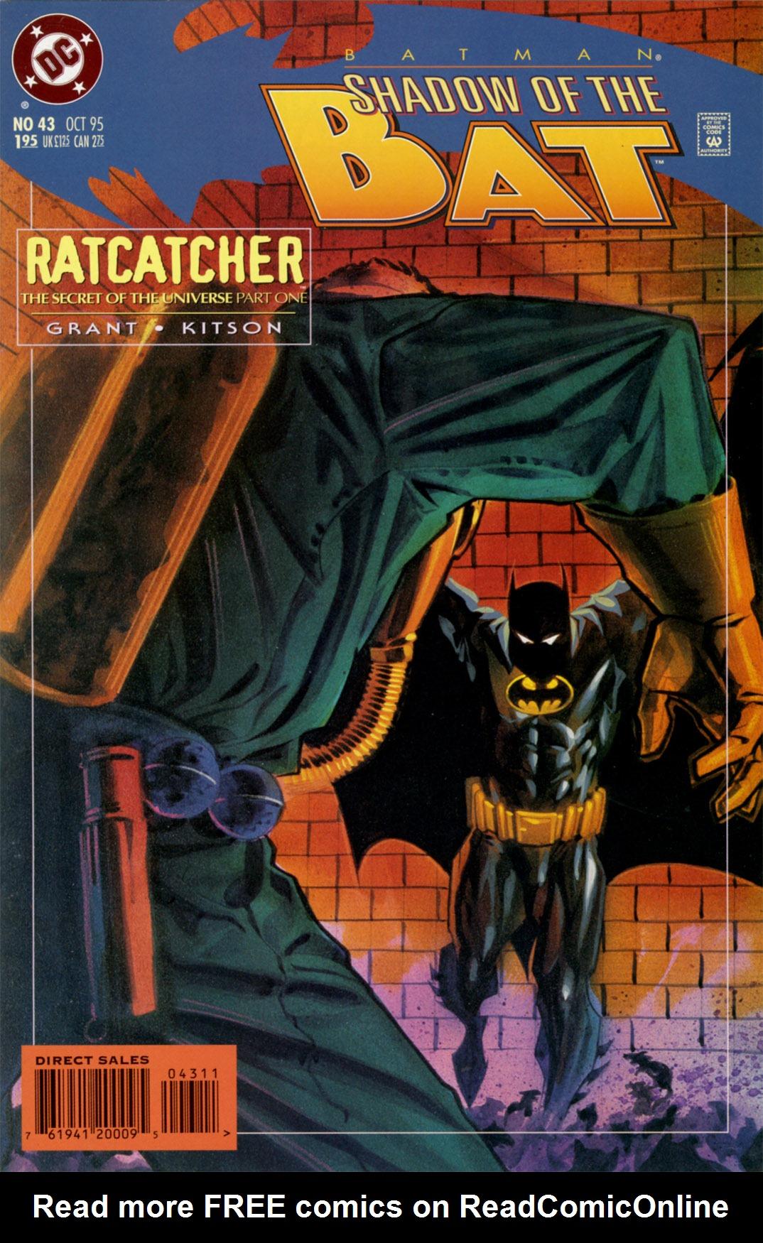 Batman: Shadow of the Bat 43 Page 1