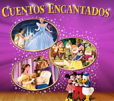 Disney Live Cuentos encantados Mexico 2016  boletos primera fila baratos no agotados