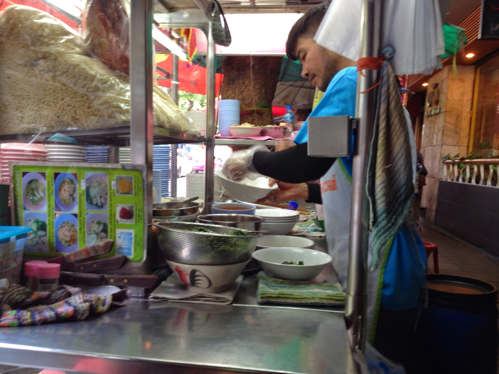 Bangkok - Noodle stand