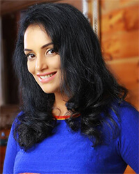 Actress Shweta Menon