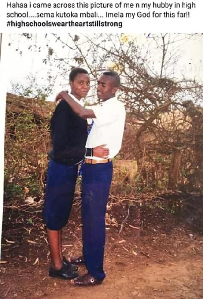 2 - From high school lovers to husband and wife, this couple excites Kenyans, Love is beautiful (PHOTOs)