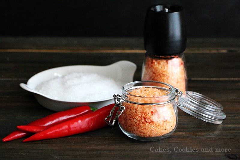 Geschenke aus der Küche - Rezept für Chilisalz