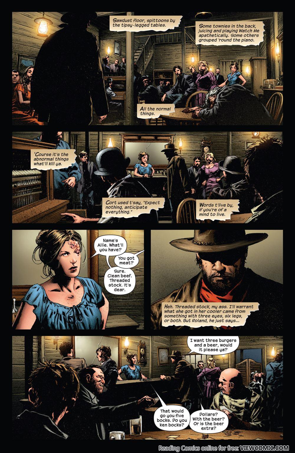 The Dark Tower The Gunslinger The Battle Of Tull 01 Of 05 2011 Read All Comics Online For Free