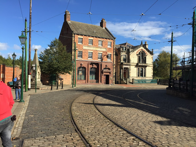 old fashioned Beamish town