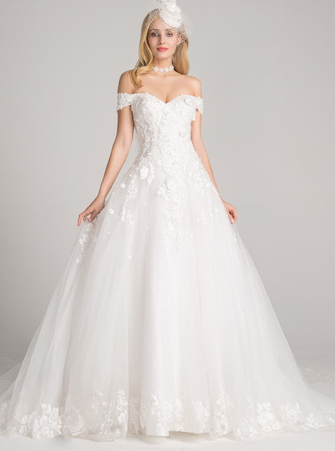 Opt For Stunning White Wedding Dresses